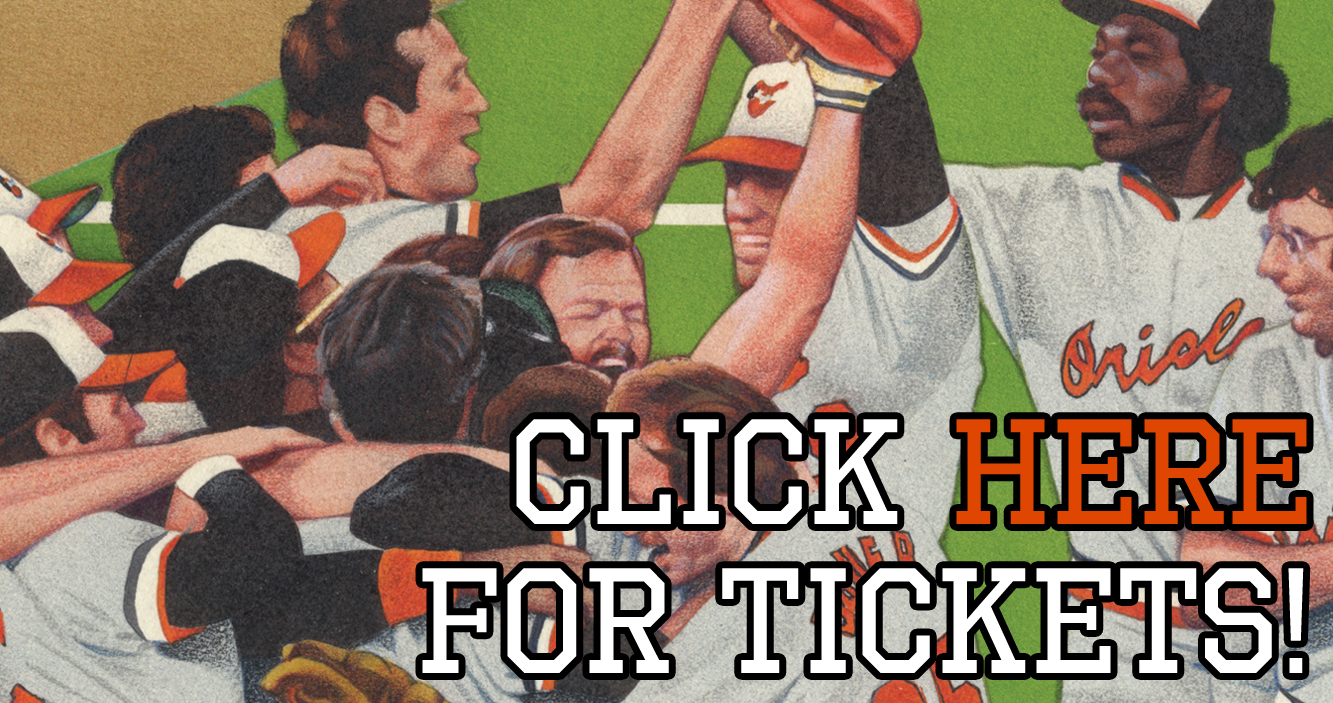 Link to ticketing website for Evening with the '83 Orioles.
